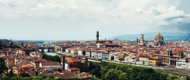 Panorama of Florence, Italy