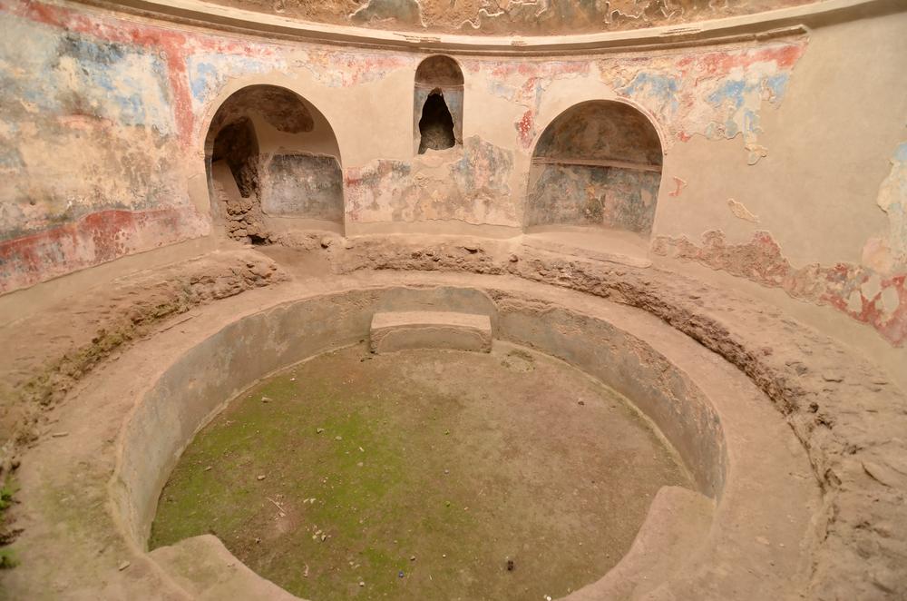 A frigidarium at Pompeii