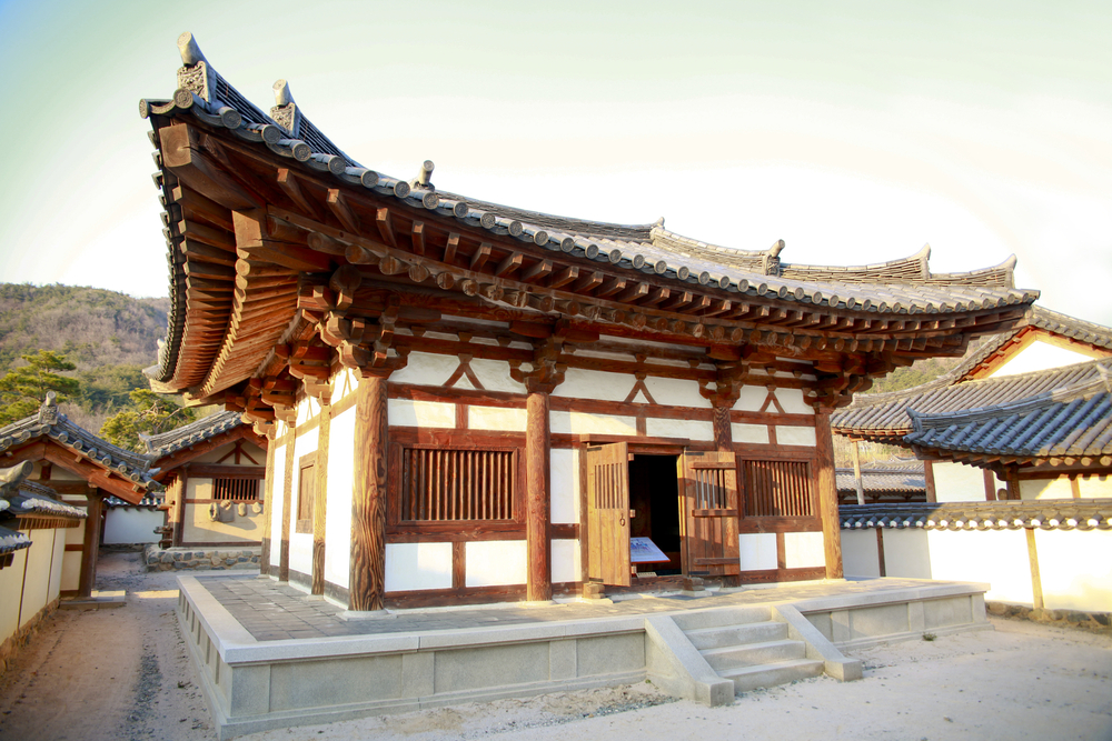 The traditional Korean house 'Hanok'