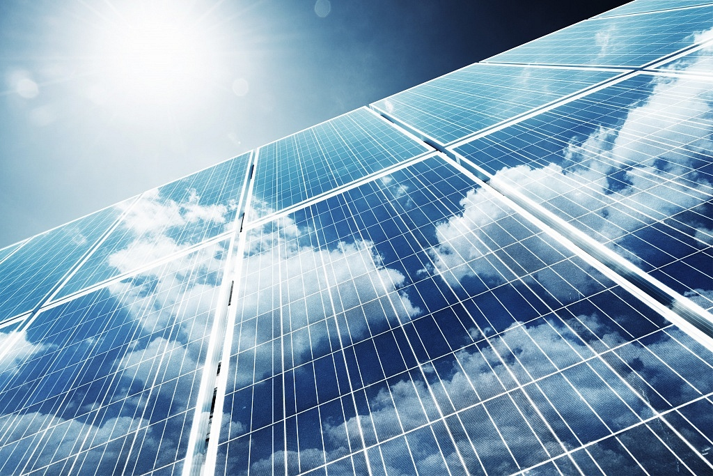 solar panels produce renewable energy
