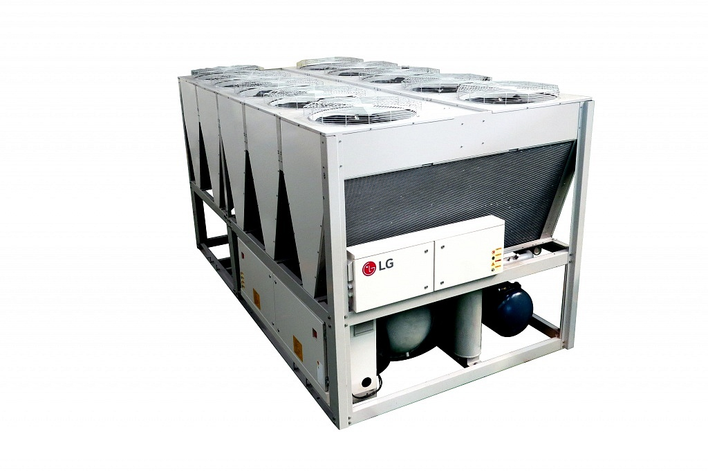 MCHX screw chiller