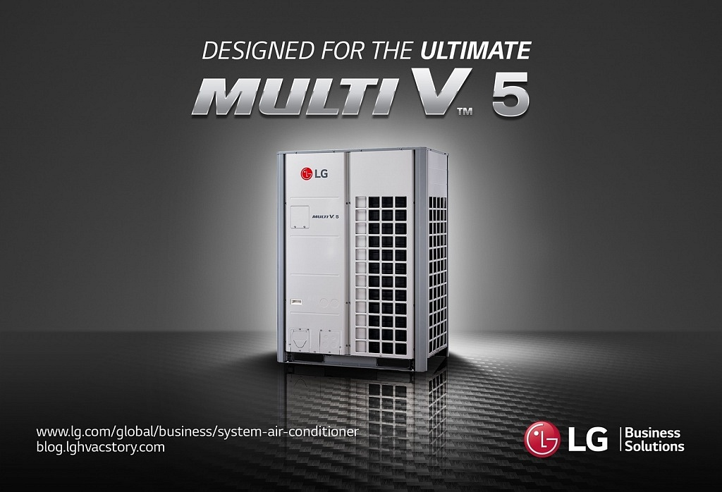 Lg Introduces Brand New Multi V 5 Vrf Solution With