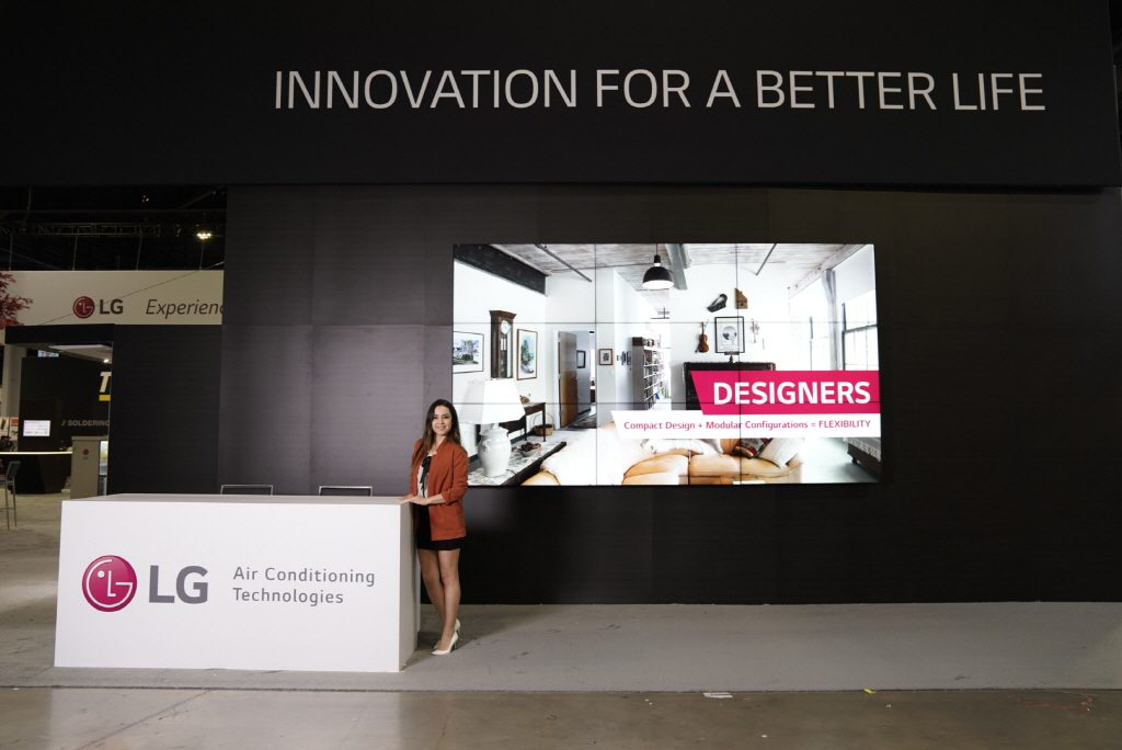 LG Exhibits Innovative HVAC Solutions at 2019 AHR Expo   On