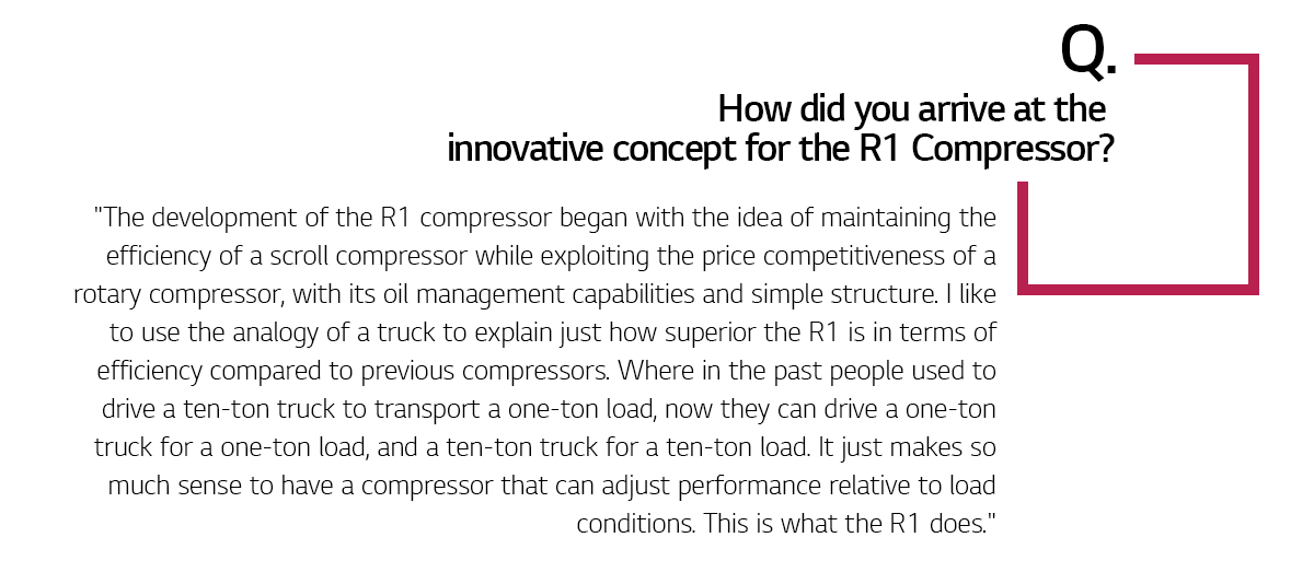 LG R1 Compressors, to the Future and Beyond | On Air - LG